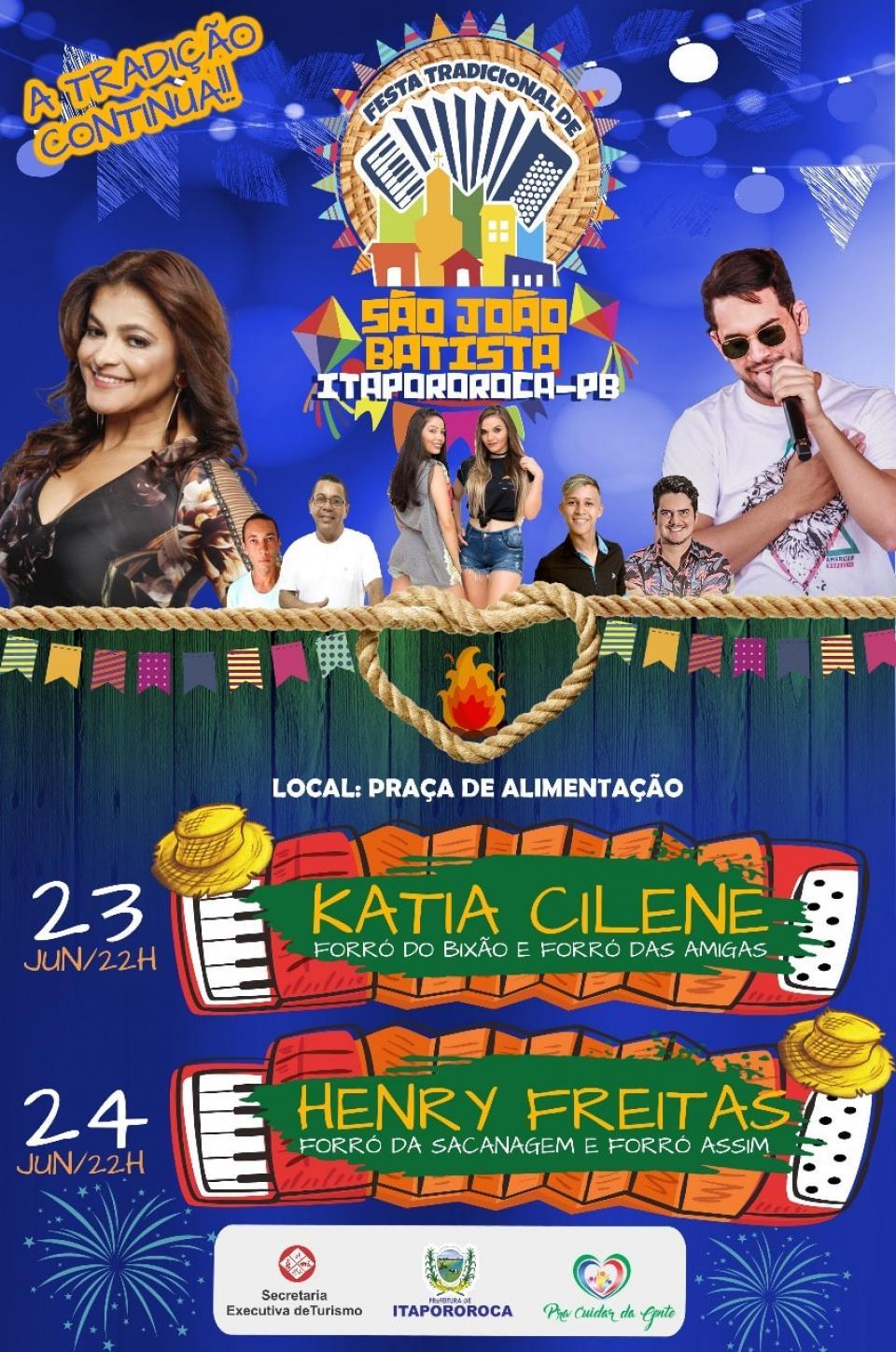 Tradicional Festa de São João Batista 2018