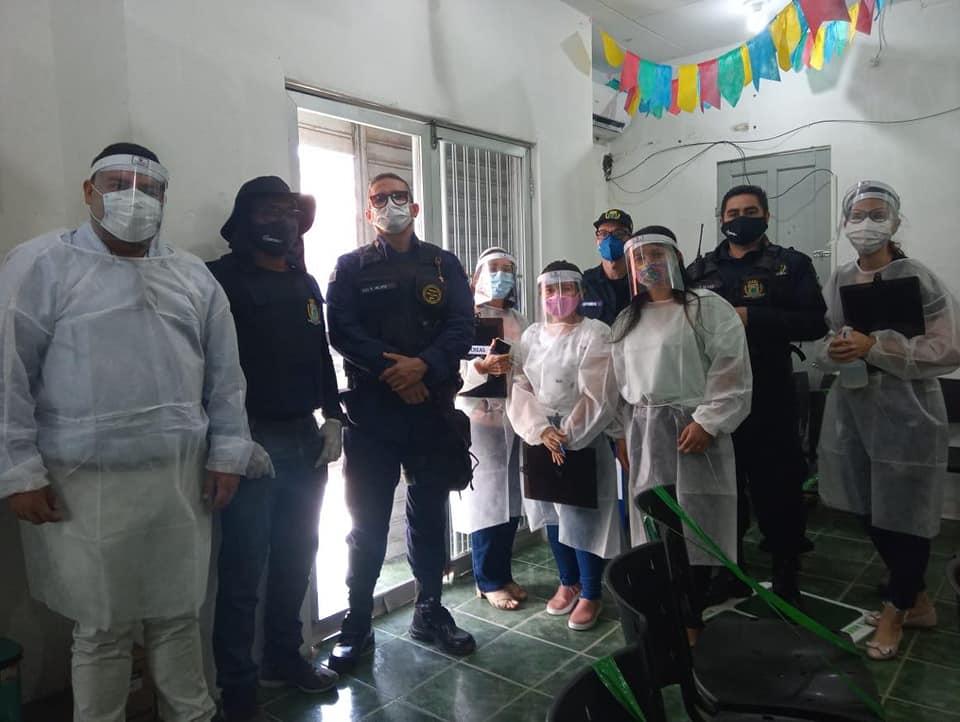 Abordagem Social a cidadãos em situação de rua Ação Conjunta CREAS, CRAS e Guarda Civil Metropolitana.